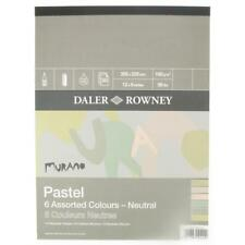 Daler Rowney Murano Pastel Pad 9x12in Neutral Colours