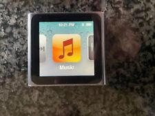 Apple iPod nano 6th Generation 8Gb Graphite Black A1366 Mc688Ll/A Mp3 Player