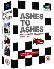 Ashes To Ashes Complete Collection 1-3 Series 1 2 3 (12 Disc) BoxSet UK R2 DVD