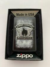 "GENUINE ZIPPO LIGHTER BRAND NEW AND BOXED PLANETA  ""ZIPPO RIDERS MOTORCYCLE"""