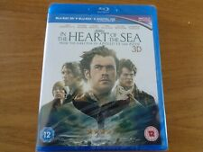 In the Heart of the Sea (Blu-ray 3D) [2016] [Region Free] New & Sealed,free p+p