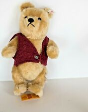 VTG STEIFF Walt Disney Winnie the Pooh *SIGNED* Mohair NEW W/TAGS ~ 1994  *RARE*