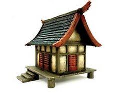 Standard House 1 Kensei Undead Zenit Miniatures (1x 28mm Miniatures Scale)