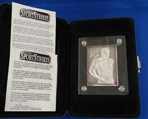 Dan Marino 6 ozt .999 Fine Silver Bar COA Box