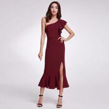 Ever-Pretty One Shoulder Regular Size Dresses for Women