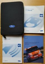 FORD FOCUS ESTATE 3 5 DOOR HANDBOOK OWNERS MANUAL WALLET 2004-2007 PACK D-257