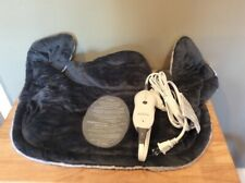 Sunbeam Gray Renue Neck Wrap Targeted Heat Therapy Electric Cloth Pad