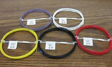 30 AWG Silver Plated PTFE Wire Assortment 100 feet 7 strand  Lightsaber Wire