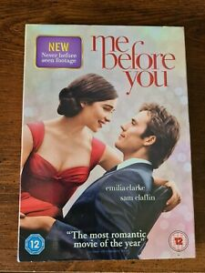Me Before You DVD Region 2