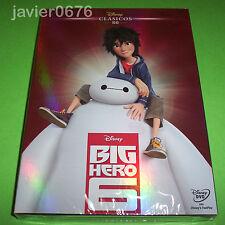 BIG HERO 6 CLASICO DISNEY NUMERO 56 - DVD NUEVO Y PRECINTADO SLIPCOVER
