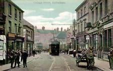 Rotherham. College Street # 872 a in Boots Pelham Series. Tram.