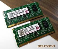 2GB RAM Laptop Memory 2x 1GBDDR2-800 MHz SODIMM Transcend Notebook Mobile Module