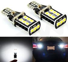 JDM ASTAR 2x 921 T10 High Power LED 6000K White Backup Reverse Light Bulbs 950LM