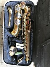 Vintage Conn 20m Saxophone sn N246112 w/ Mouthpiece, Case & cleaning tools