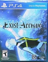 EXIST ARCHIVE THE OTHER SIDE OF THE SKY PS4 US FULL ENGLISH REGION FREE NEW