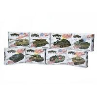 4D 8pcs Assemble Tank Heavy Weapons Armor 1/72 Plastic Model US Kit Battle Toy
