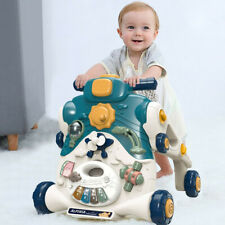 New Sit-to-Stand Baby Walker Ride On Push Toy Learning Toys With Sound & Light