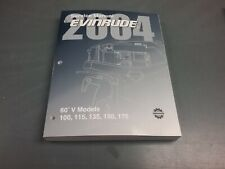 Service manual for 100 to 175  HP Evinrude  outboard motor 2004