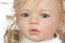 "Isabella By Regina Swialkowski New Reborn Toddler Doll Kit @26""@Shoulder Plate"