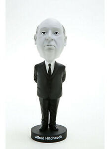 Royal Bobbles Alfred Hitchcock Exclusive Black and White Bobblehead