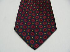"""LANDS' END - LONG 61"""" - VINTAGE - MADE IN USA - 100% SILK NECK TIE!"""
