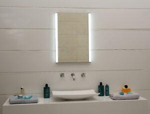 LED-Beleuchtung Lichtspiegel Badezimmerspiegel GS100N Wandspiegel IP44 Kaltweiß