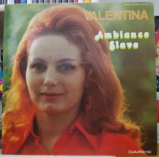 VALENTINA AMBIANCE SLAVE DEDICACE FRENCH LP CARIME RECORDS