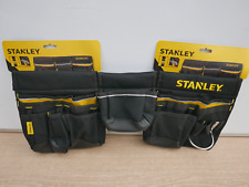 STANLEY NEW DESIGN MULTI POCKET POUCH TOOL BELT APRON & HAMMER LOOP 1 96 178