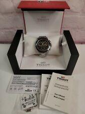 Tissot T-Sport V8 Chronograph Quartz Black Dial T1064171105100