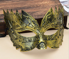 Masquerade Mask Mens Male Roman Gladiator Venetian Costume Fancy Dress Party AU