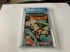MARVEL SPOTLIGHT 26 CGC 8.5 WHITE PAGES SCARECROW PITS OF HELL MARVEL COMICS