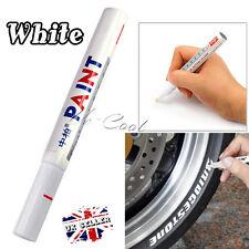 UK White Car Tyre Marker Paint Pen Tire Permanent Waterproof Glass Oil Draw Arts