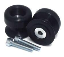 SHOGUN SWINGARM SPOOLS (BLACK) 701-0639 MC Yamaha