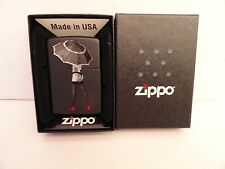 New Zippo Pin-up Sexy Girl #4 Red Shoe Series Black Matte Lighter Sealed 2012