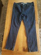 topshop moto blue lila jeans size 12 petite