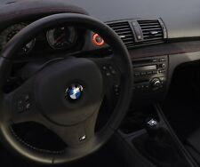 BMW 1 Series M coupe Orange Starter Trim