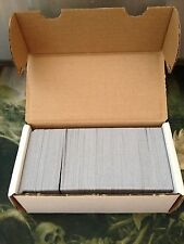 500 Basic Land Lot -100 of each type - BLACK BORDER + Storage Box -Magic MTG FTG