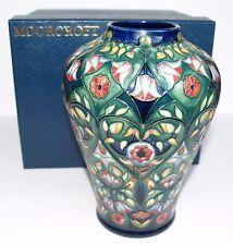 1st Moorcroft Original Box LARGE VASE ANATOLIA Collectors Club Rachel Bishop