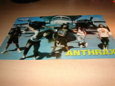 ANTHRAX - !!!!!!!!!!!!!!!!!!!!!!!!!!!FRENCH MINI POSTER