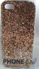 Gold Glitter Case Cover For Apple iPhone 5 - NEW SEALED