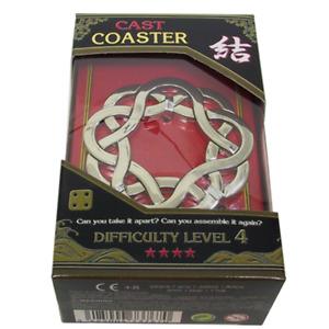 Coaster Hanayama disentanglement puzzle