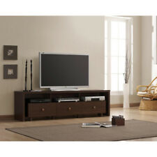 TV Stand 70 inch w/ 3 Drawers Entertainment Media Home Center Console Furniture