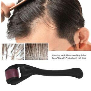 Beard Hair Regrowth Micro-needling Roller Anti Hair Loss Treatment Kit
