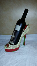 Christmas High Heel Stiletto Wine Bottle Holder