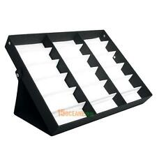 18 Sunglasses Glasses Retail Shop Display Stand Storage Box Case Tray Tool Black