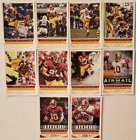 2013 Score Washington Redskins Base Team Set 10 Card Lot (NO RC's)