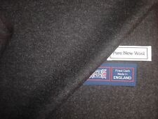 100% MERINO WOOL FLANNEL SUITING/JACKETING FABRIC MADE IN ENGLAND - (2.0 m.)