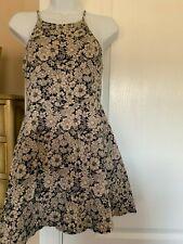 Forever 21 Women's Black/Cream Dress Size Small S