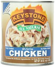6 Pack Keystone Meat All Natural Canned Chicken, 28 Ounce