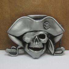 Buckle Cowboy Buckles Skull Pirate Belt